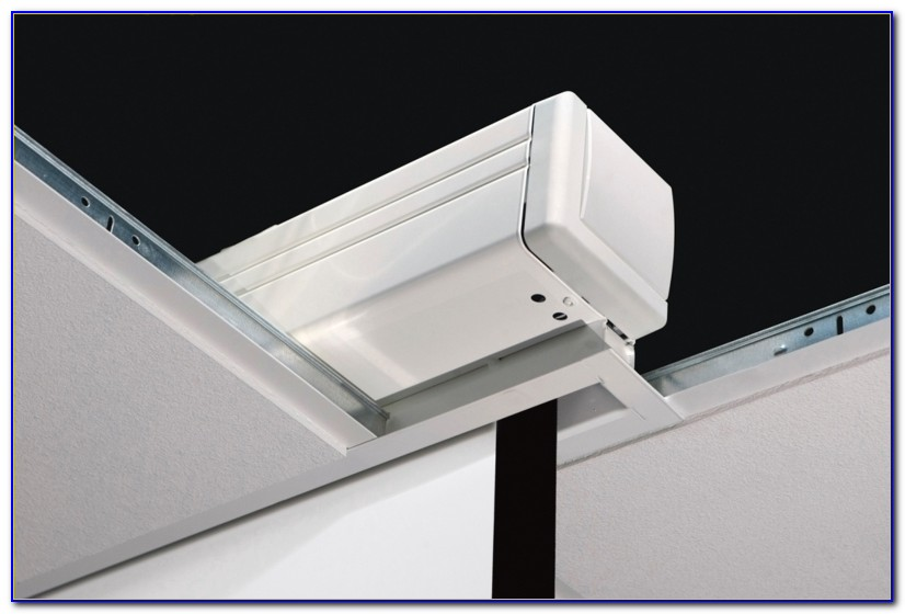 Projector Screen Ceiling Mounting Brackets