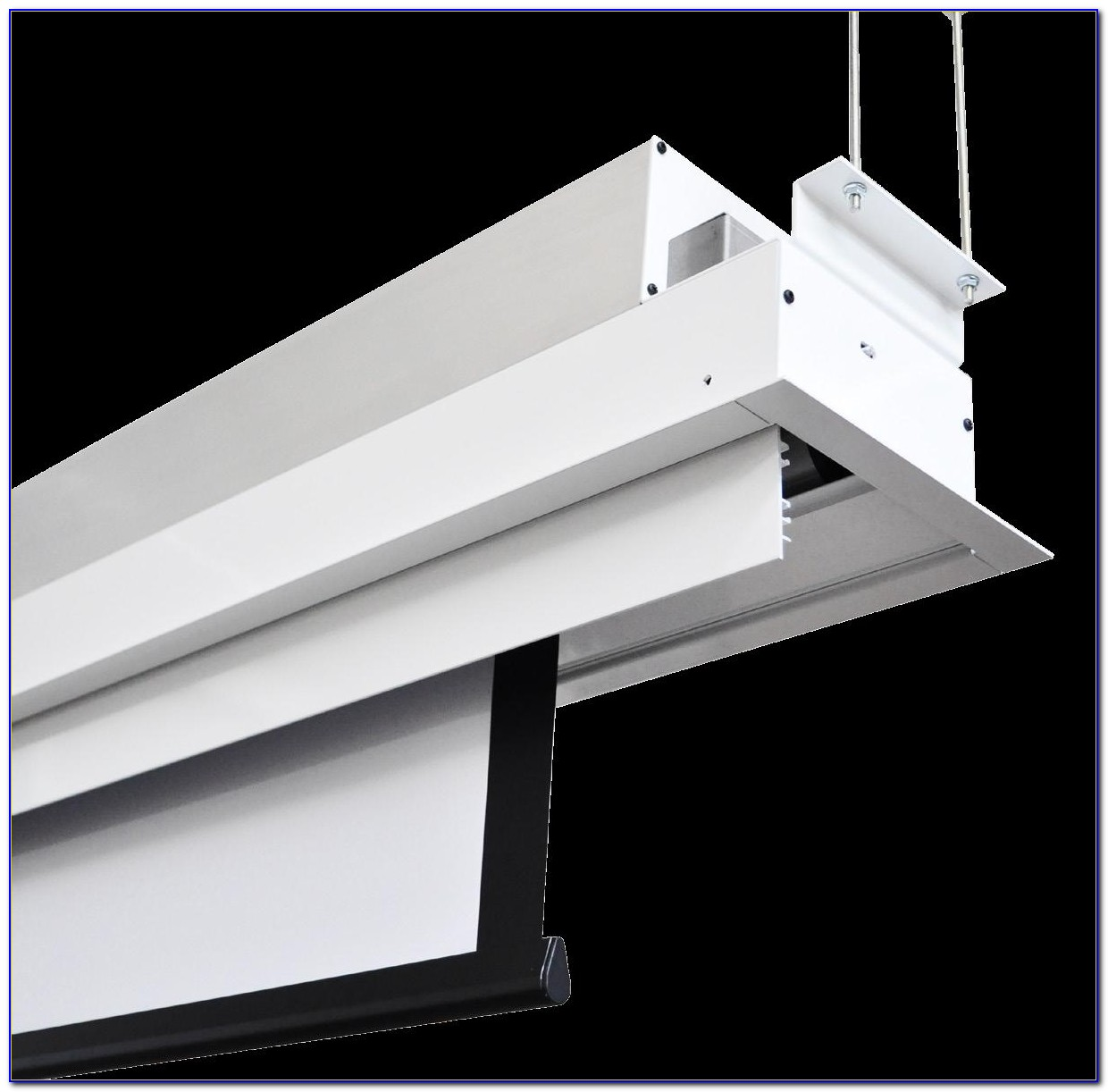 Projector Screen Ceiling Recessed