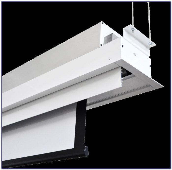 Recessed Ceiling Projector Screen
