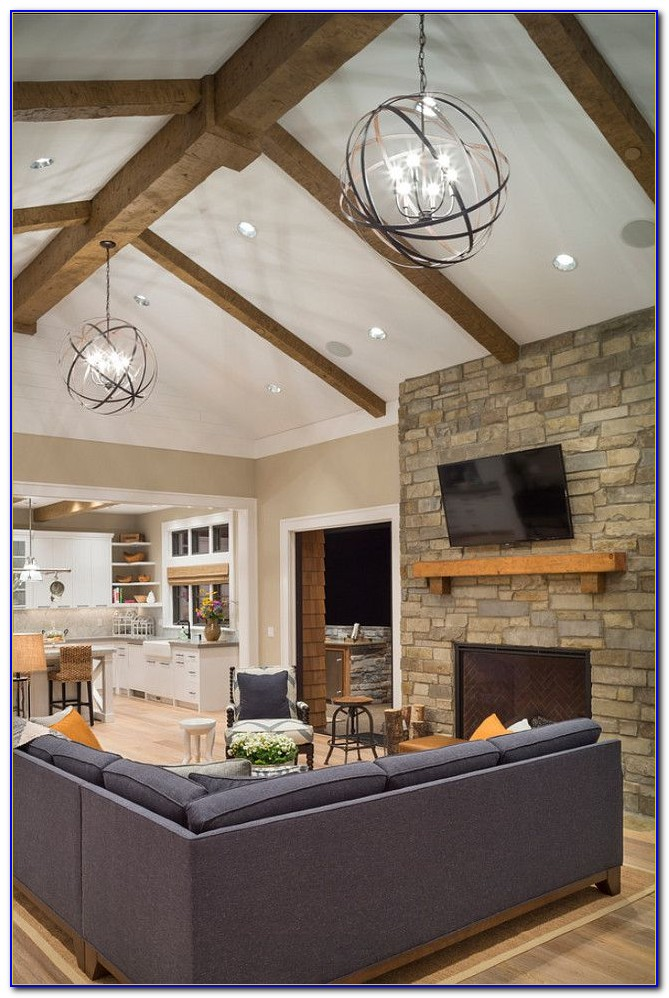 Recessed Lighting For Pitched Ceilings