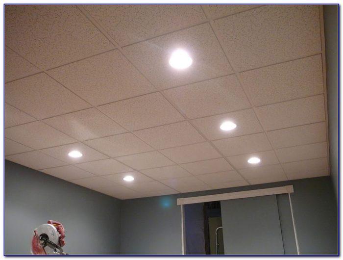 Recessed Lighting In Basement Drop Ceiling