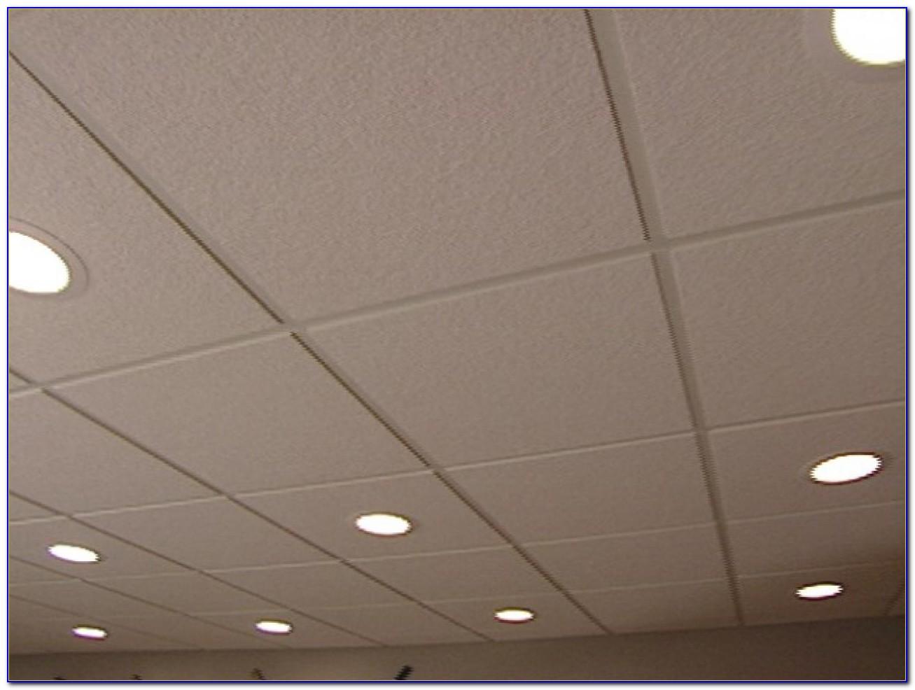 Recessed Lighting In Drop Ceiling Diy