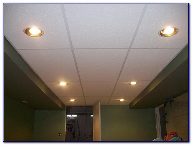 Recessed Lighting In Drop Ceilings