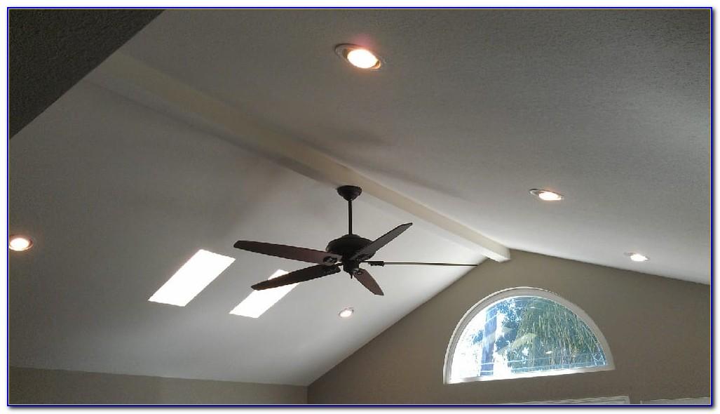 Recessed Lighting Sloped Ceiling Trim