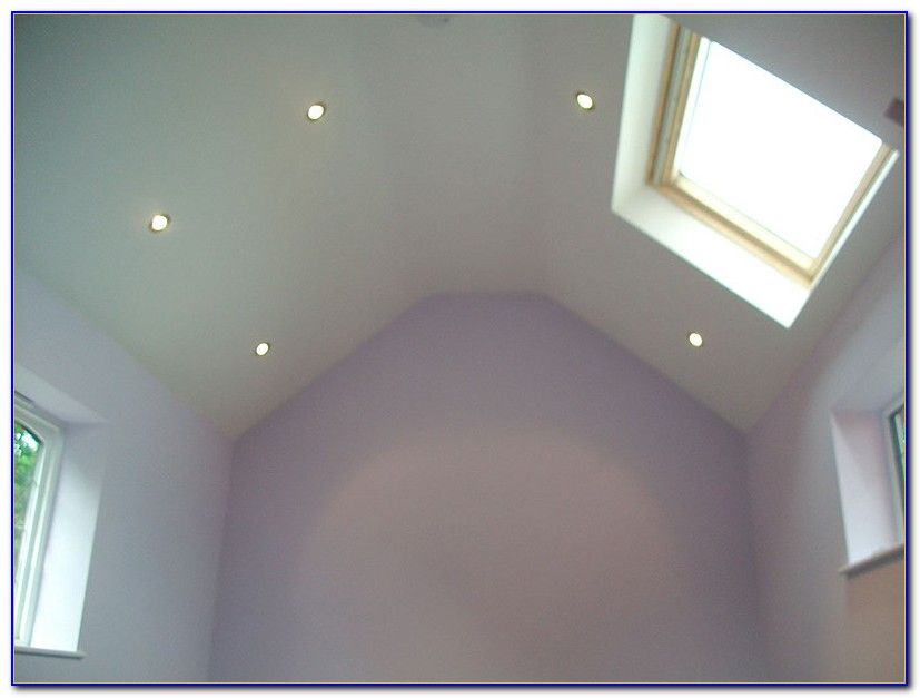 Recessed Lighting Sloped Ceiling