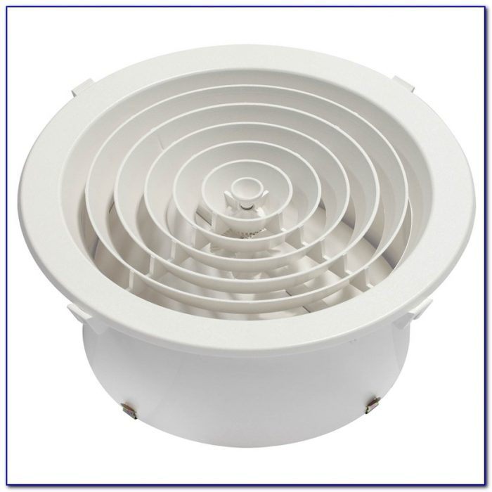 Round Air Conditioner Ceiling Vents