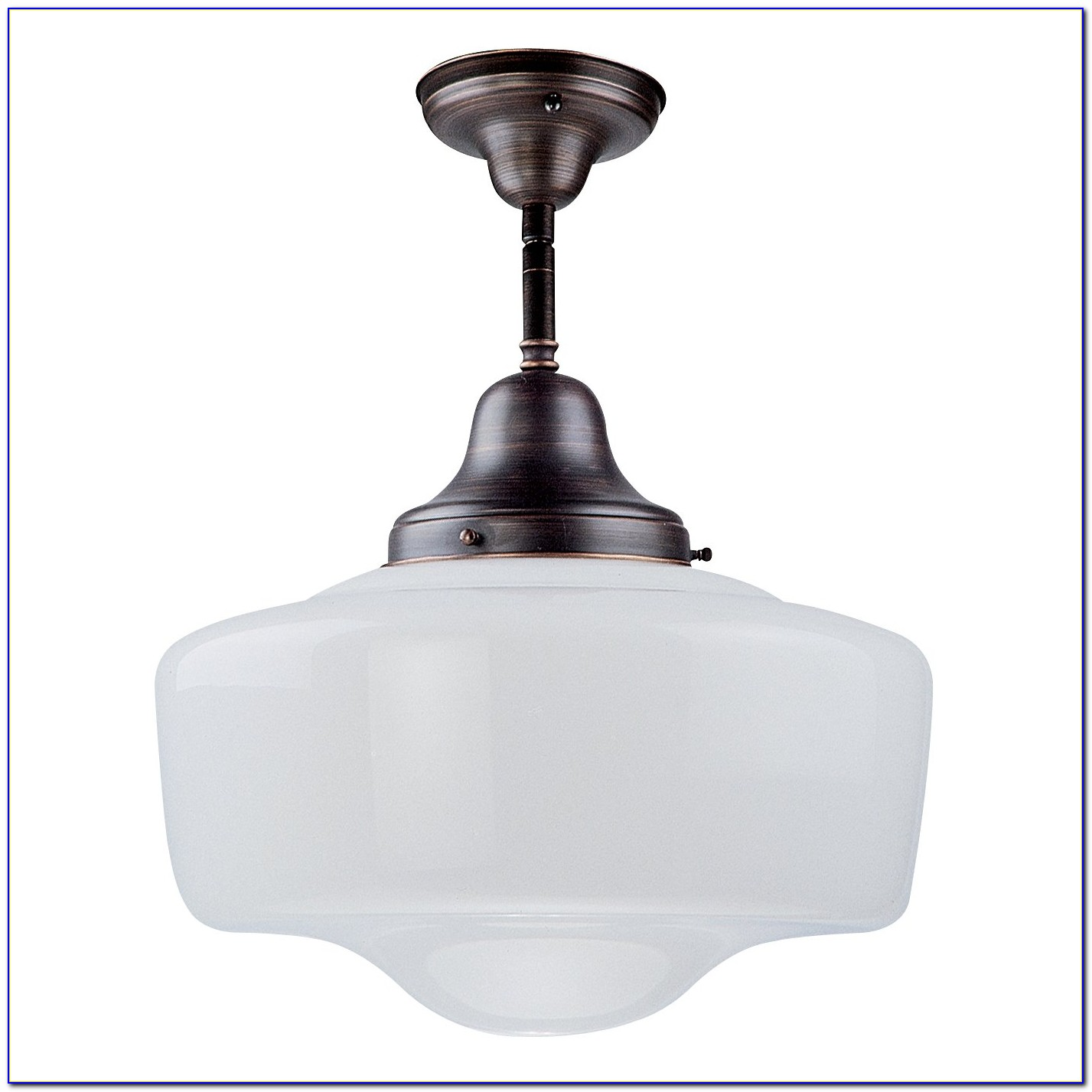 Schoolhouse Semi Flush Ceiling Light