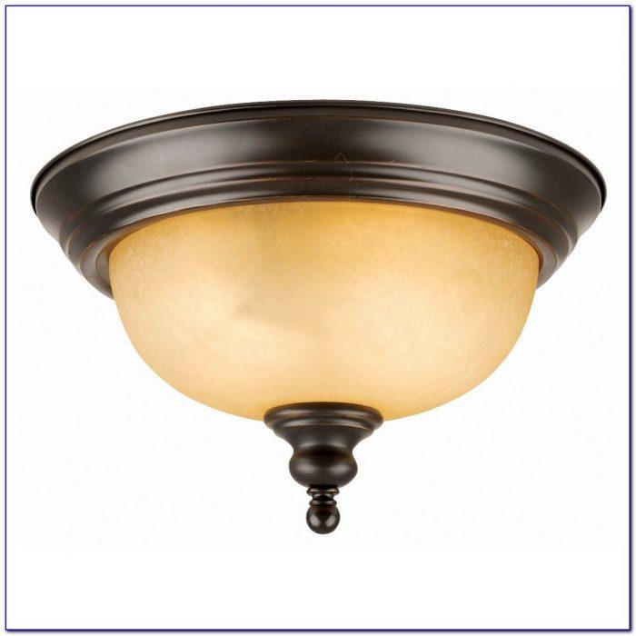 Semi Flush Mount Ceiling Light Oil Rubbed Bronze