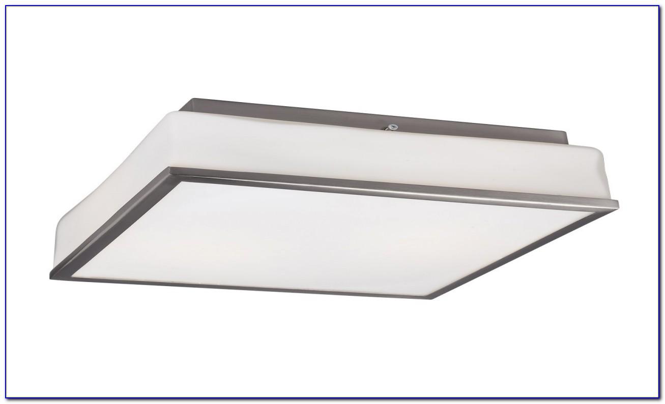 Square Ceiling Fluorescent Light Fixture