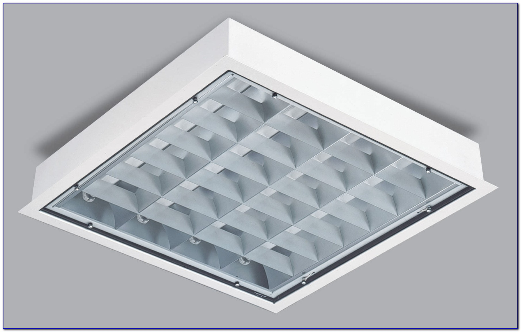 Square Ceiling Mount Light Fixture