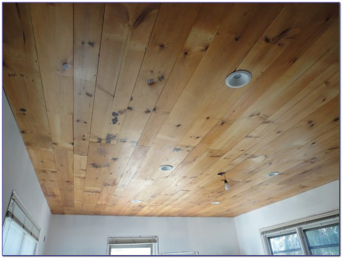 Thin Wood Planks For Ceiling