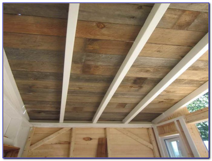 Tongue Groove Cedar Ceiling Planks