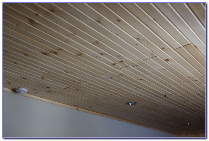Tongue Groove Wood Ceiling Panels