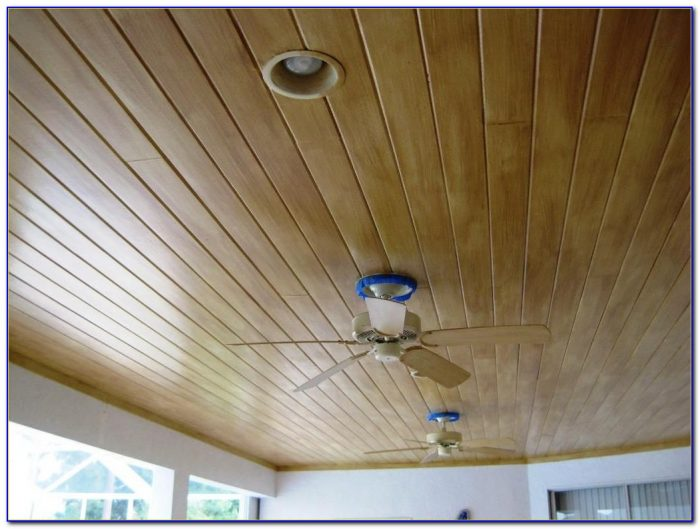 Tongue Groove Wood Ceiling Planks