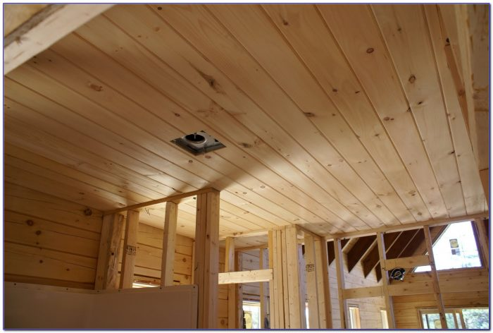 Tongue In Groove Wood Ceiling