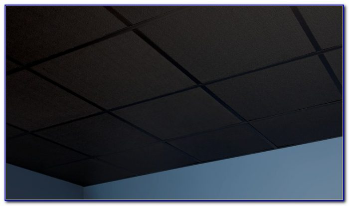Usg Black Acoustic Ceiling Tiles