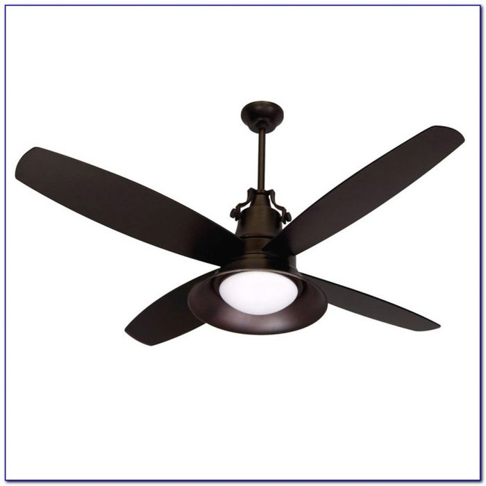 Wet Rated Ceiling Fan With Light