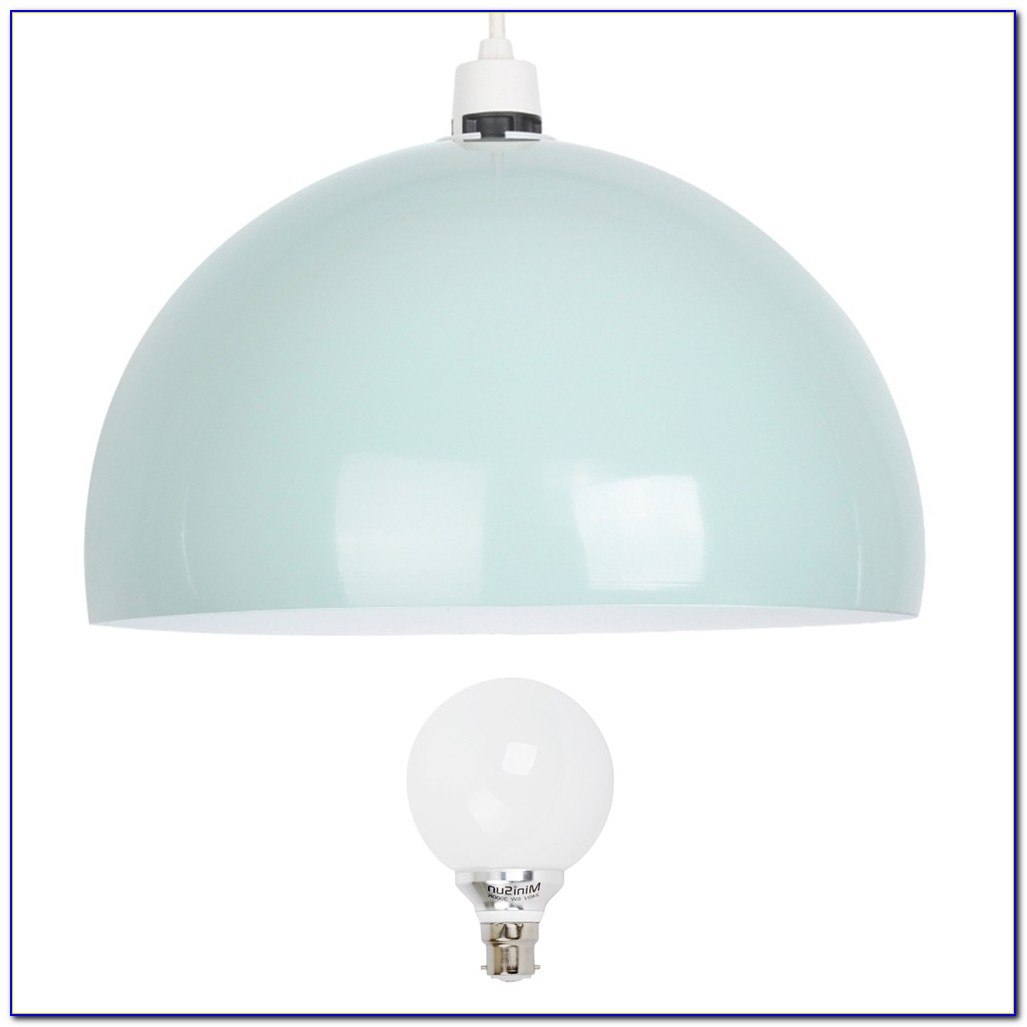 White Acrylic Dome Ceiling Pendant Light Home