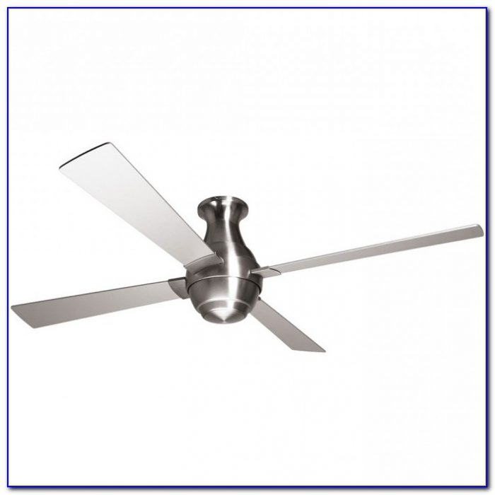 White Wall Hugger Ceiling Fans