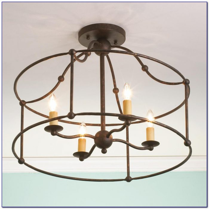 Wrought Iron Kitchen Ceiling Lights