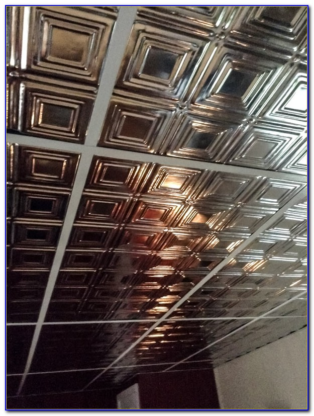 2x4 Tin Ceiling Panels
