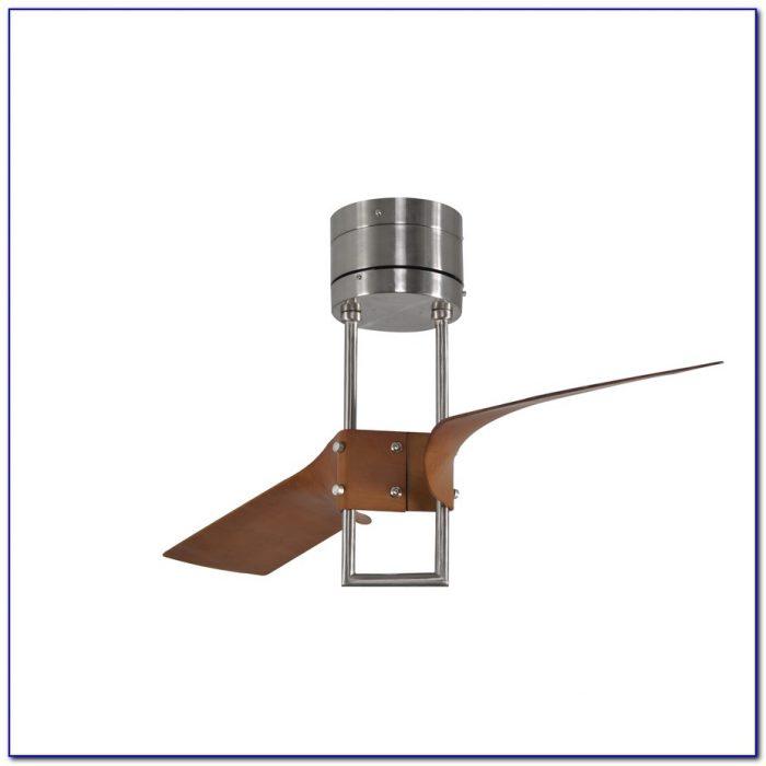 52 Inch White Flush Mount Ceiling Fan