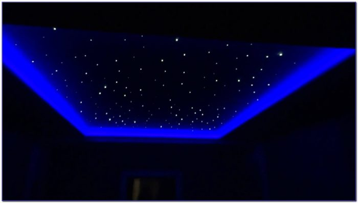 600 Strand Led Star Ceiling Kit