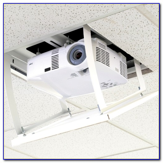 Motorized Drop Down Ceiling Projector Mount Ceiling Home Design Ideas