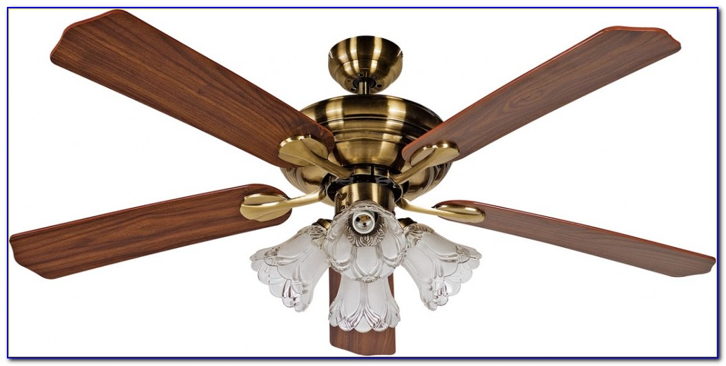 Brass Ceiling Fan Light Fixture