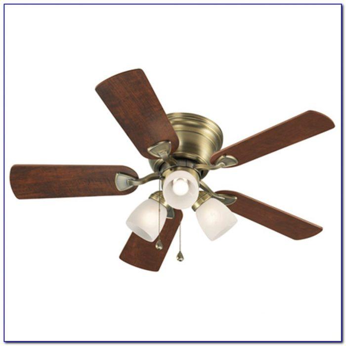 Brass Ceiling Fan With Light