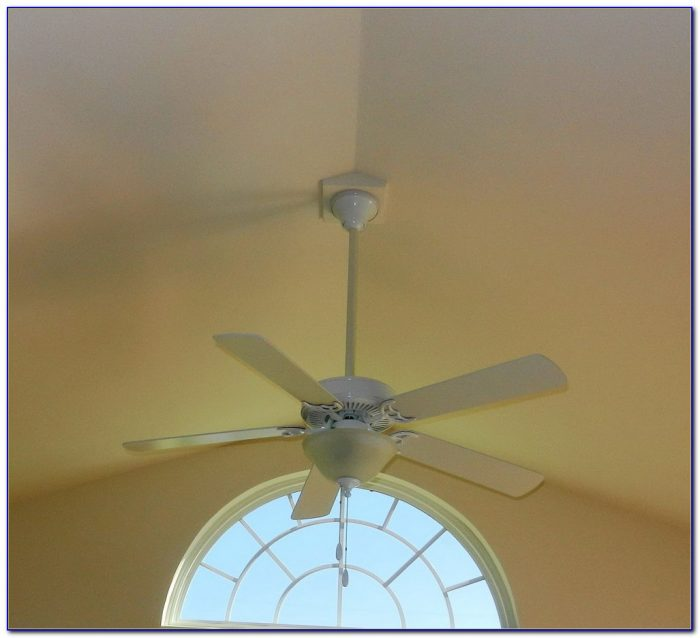 Ceiling Fan Box For Sloped Ceiling
