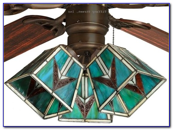 Ceiling Fan Light Globes Stained Glass
