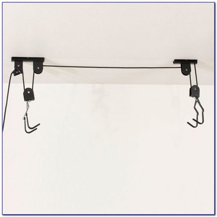 Ceiling Mount Bike Rack Pulley
