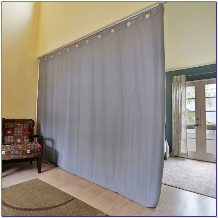 Ceiling Mount Curtain Room Divider