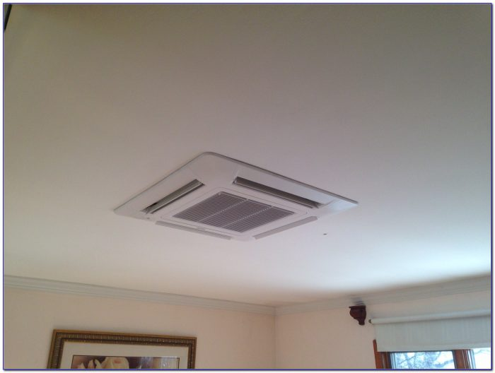 Ceiling Mounted Air Conditioner Installation Ceiling