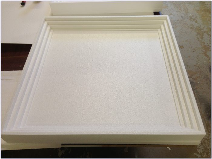 Coffered Drop Ceiling Panels