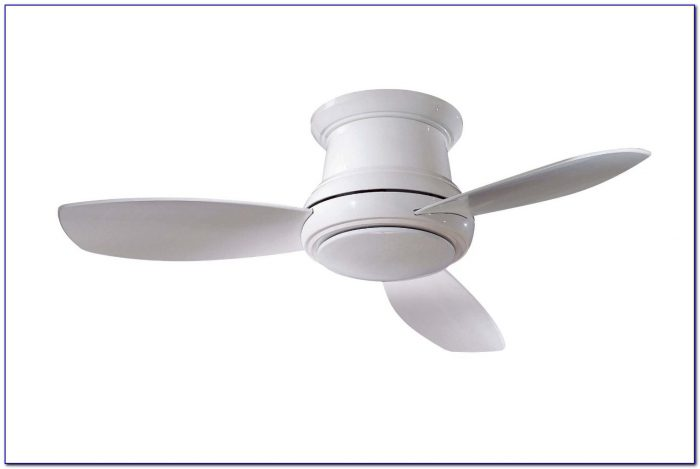 Concept Ii Flush 52 Ceiling Fan With Optional Light