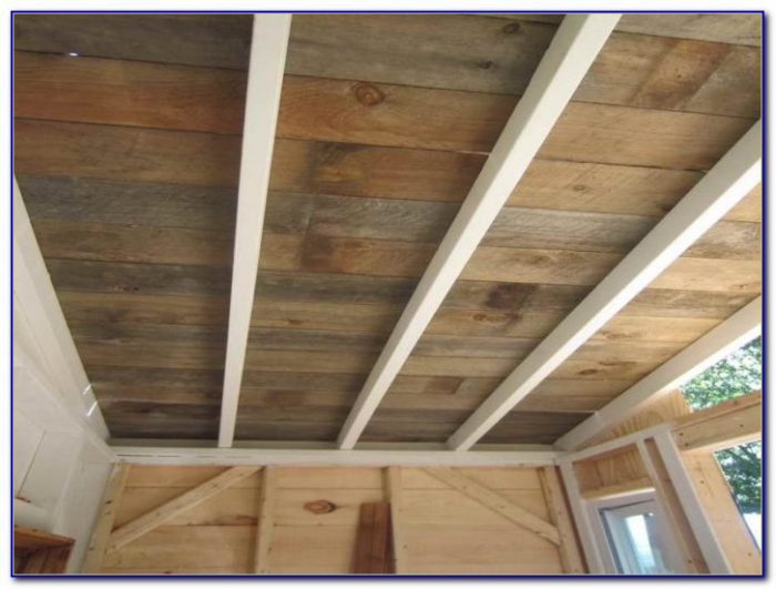 Exterior Wood Ceiling Planks