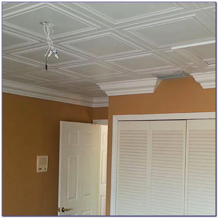 Flush Clip Mount Ceiling Tiles