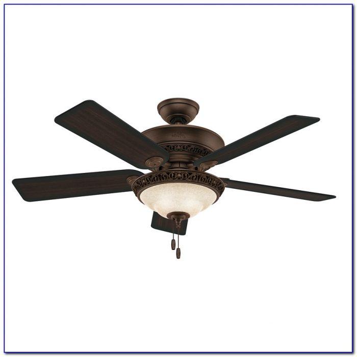 Flush Mount Ceiling Fan With Led Light