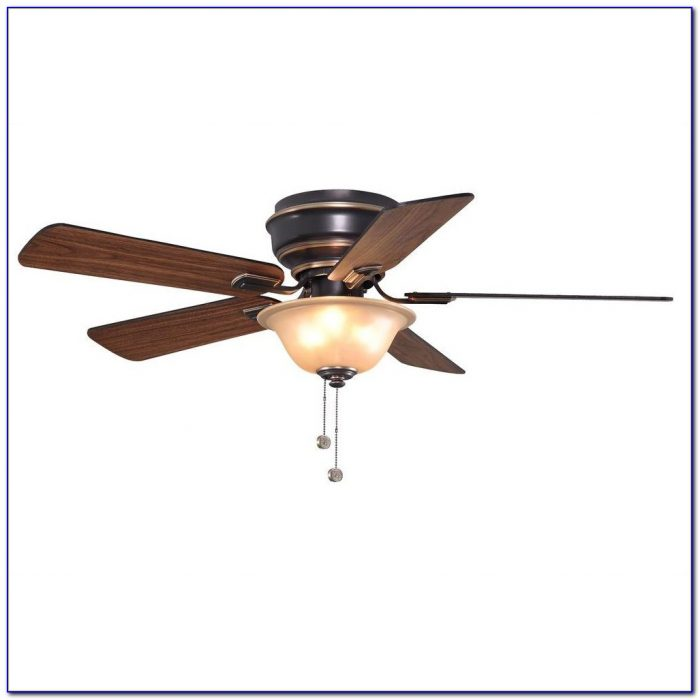 Hampton Bay 60 Inch Black Industrial Ceiling Fan