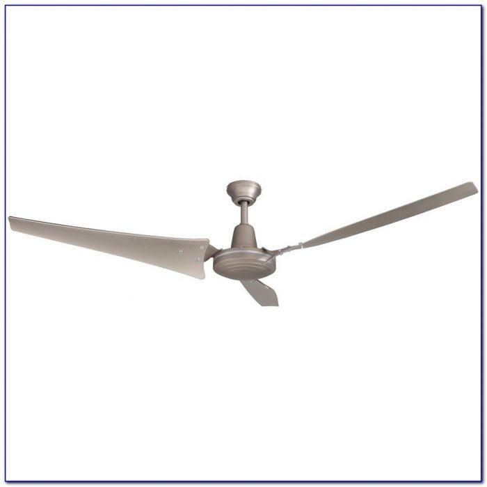 Hampton Bay 60 Industrial Ceiling Fan White
