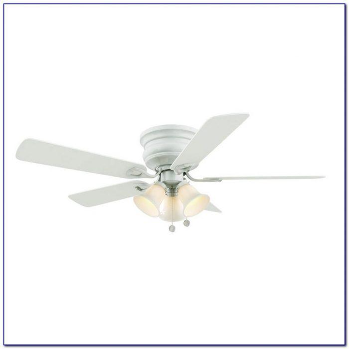 Hampton Bay White Industrial Ceiling Fan 60 Inch