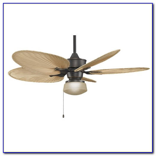 Harbor Breeze Ceiling Fan With Palm Blades