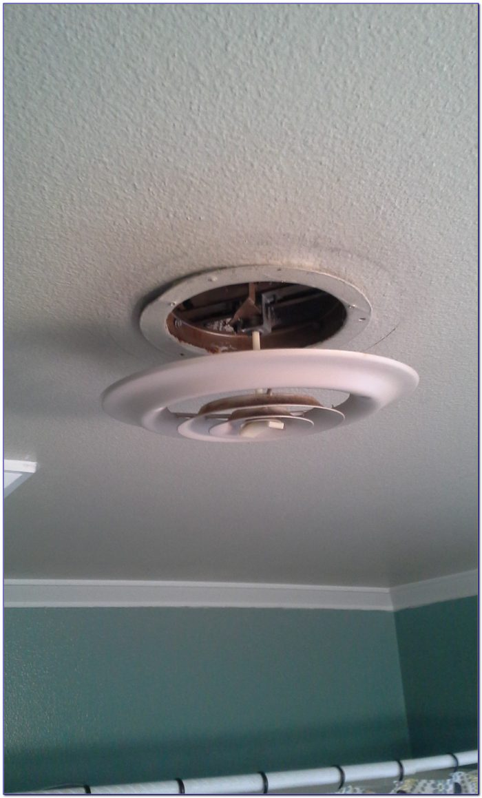 Heat Vents Near Ceiling