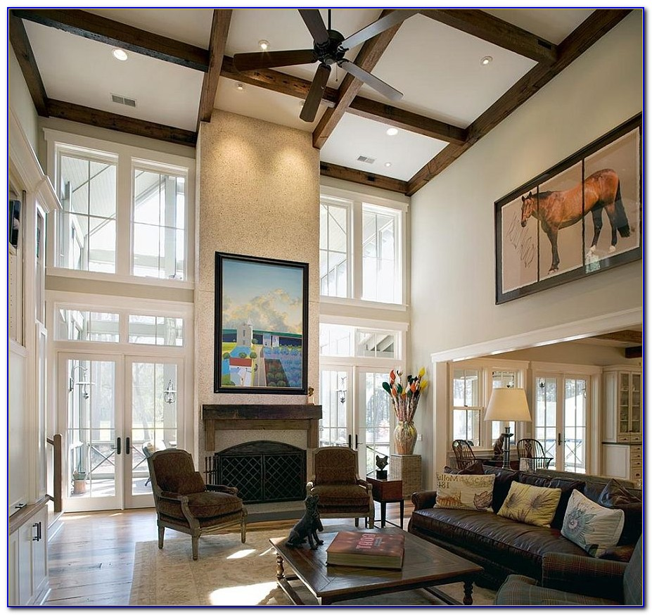 High Ceiling Bedroom Decorating Ideas