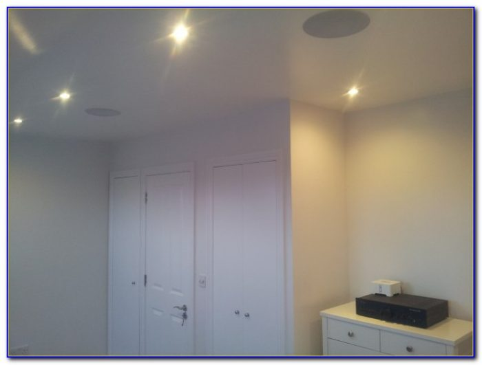 How To Install In Ceiling Speakers Correctly