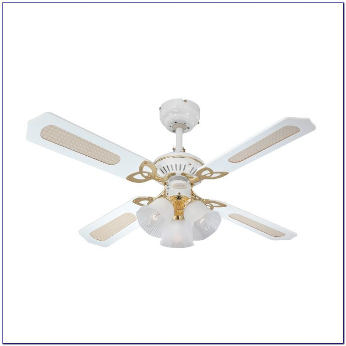 Hunter White Ceiling Fan 44