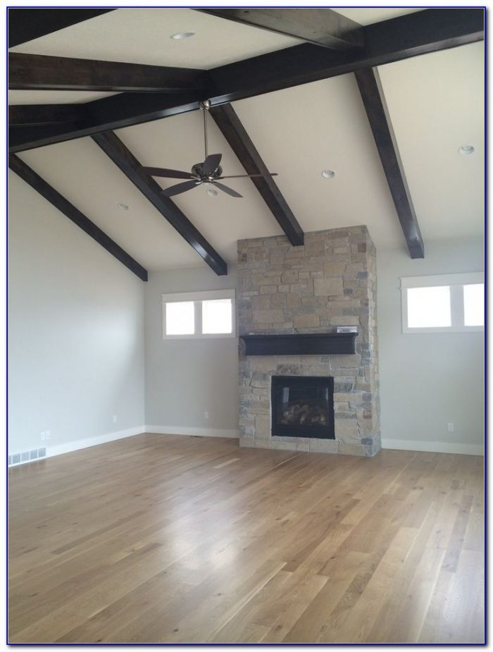 Installing Wooden Beams On Ceiling