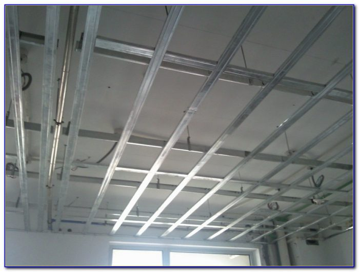 Metal Stud Ceiling Framing Details